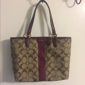 Small coach purse authentic